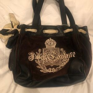 Authentic Black Tote by JUICY COUTURE
